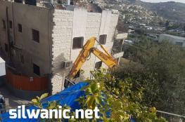 الاحتلال يهدم منزلا في بلدة سلوان بالقدس