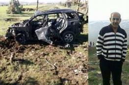 مقتل سوري في قصف اسرائيلي لسيارة في القنيطرة
