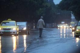 حالة الطقس : اجواء باردة وأمطار مصحوبة بعواصف رعدية
