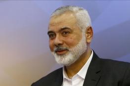 هنية يعلن التوصل لاتفاق تهدئة بغزة برعاية قطرية