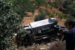 إصابة مواطن ومستوطنين بحادث سير قرب الخضر