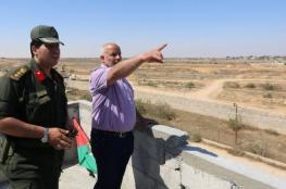 داخلية غزة : لن نسمح بأي تهديد امني  يمس الحدود مع مصر