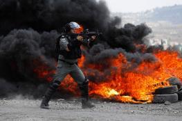 عشرات الاصابات بقمع الاحتلال لمسيرة كفرقدوم