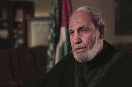 انتخاب الزهار رئيسا لكتلة حماس البرلمانية