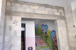بلدية رام الله تواصل اعمال الصيانة في مدارس المدينة الحكومية