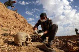 العثور على مقبرة جماعية تضم رفات مئات المعتقلين في سجن بادوش قرب الموصل