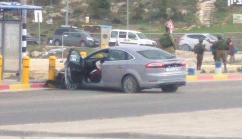 اصابة فتاة بجراح حرجة برصاص الاحتلال شمال الخليل