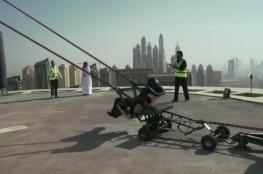"""شرطة دبي تكشف مصير رجل المقلاع """" فيديو """""""