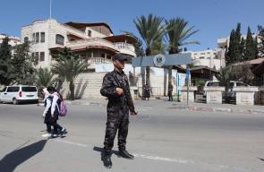 اجهزة الامن في غزة تنتشر لتأمين قدوم وفد الحكومة الفلسطينية غداً