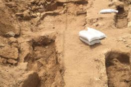 الكشف عن مقبرة اسلامية في يافا خلال عمليات تنقيب لبلدية تل أبيب