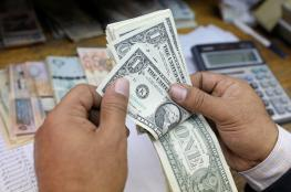 ارتفاع في سعر صرف الدولا والدينار