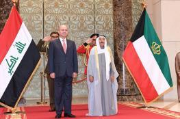 امير الكويت يؤكد على استعداد بلاده المساهمة في اعمار العراق