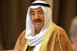 مباحثات بين امير الكويت وعون حول العلاقات الثنائية بين البلدين