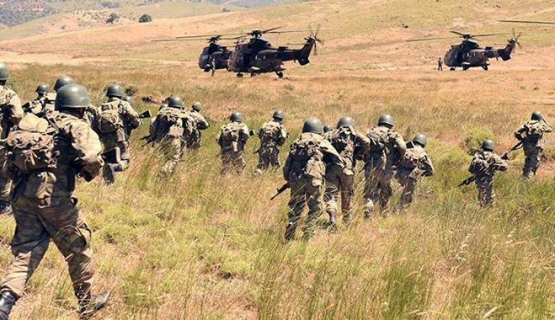الجيش التركي يطلق عملية عسكرية واسعة شمال العراق