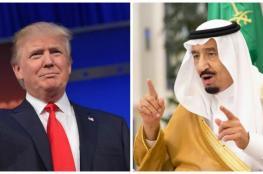 ترامب بعد اتصاله مع ملك السعودية: أمور مثيرة وممتعة تحدث بالشرق الأوسط