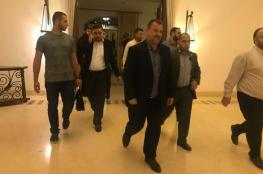 وفد من حماس بقيادة العاروري يتوجه الى مصر