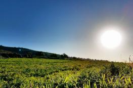 حالة الطقس:  أجواء صافية والحراة أعلى من معدلها بـ 3 درجات