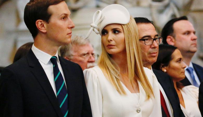 """ايفانكا ترامب وزوجها """"كوشنير """" يتعرضان لخسارة مالية فادحة"""