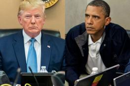 ترامب يحمل أوباما مسؤولية وفاة 17 ألف أميركي