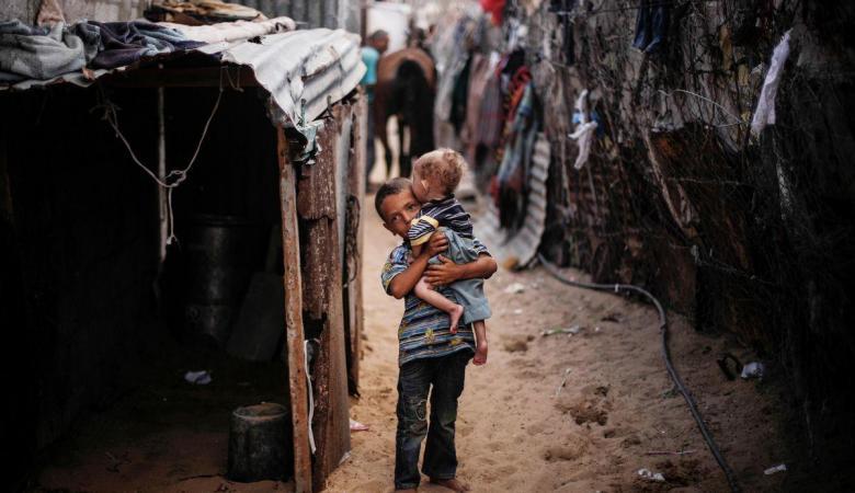 أكثر من مليون نسمة يعيشون تحت خط الفقر بغزة