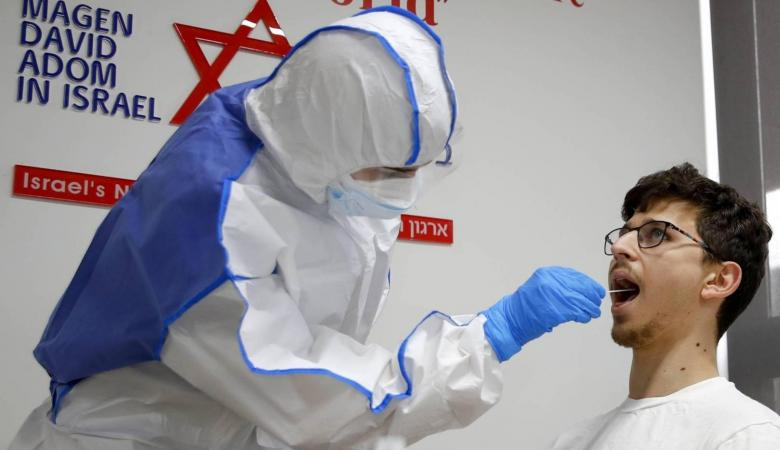 """ارتفاع عدد المصابين بـ""""الكورونا"""" في """"إسرائيل"""" إلى 3865"""