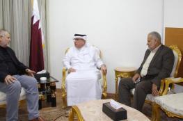 السفير القطري : يجب انهاء الانقسام الفلسطيني