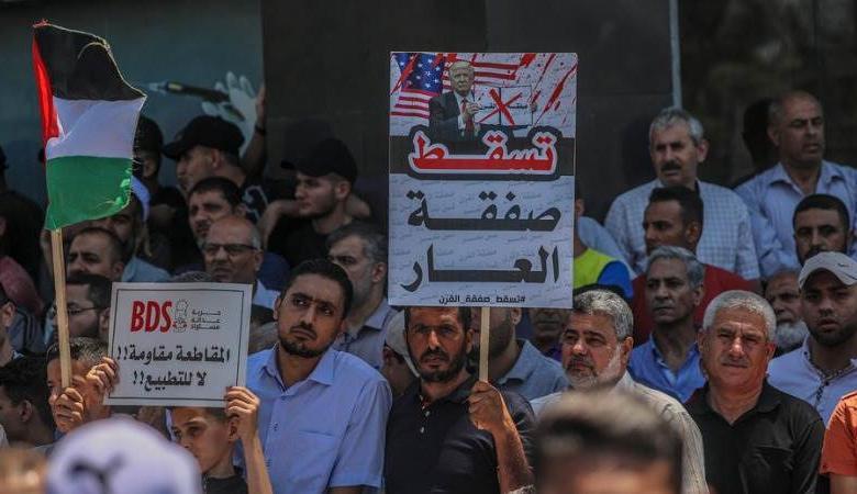 """حماس: نتواصل مع """"فتح"""" للاتفاق على خطة لمواجهة """"الضم"""""""