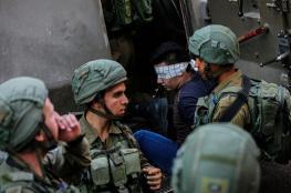 اعتقال 52  مواطنا من الضفة الغربية والقدس فجر اليوم