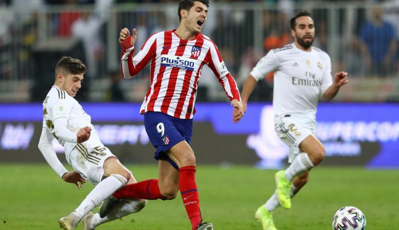 سيميوني وزيدان يتحدثان عن خطأ فالفيردي الحاسم في مباراة ريال مدريد ضد أتلتيكو مدريد