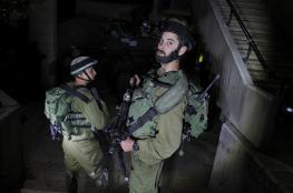 بالأسماء : الاحتلال يشن حملة اعتقالات واسعة في رام الله