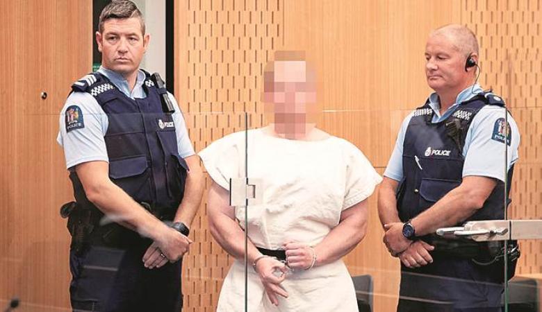 نيوزيلندا توجه تهم للارهابي منفذ الهجوم على المسجدين
