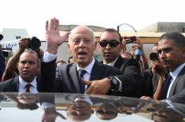 قيس سعيد يفوز بالانتخابات الرئاسية التونسية