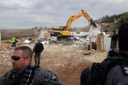 قرار اسرائيلي بهدم 3 منازل في قلنسوة