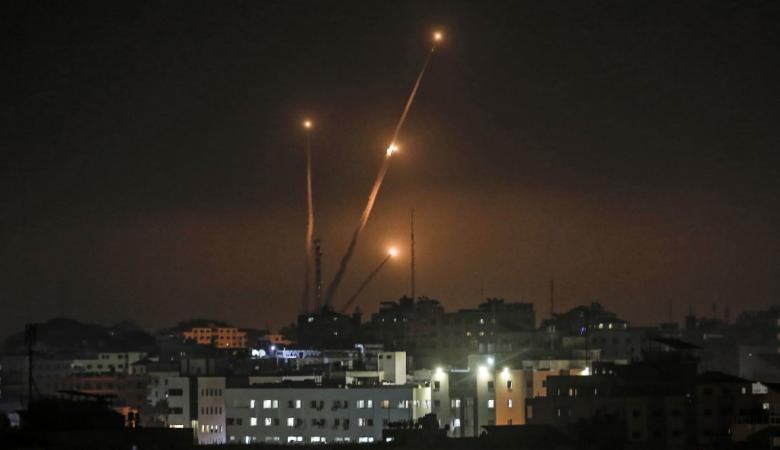 """رغم التهدئة..صاروخين من القطاع صوب """"غلاف غزة"""""""