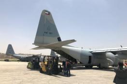 بايعاز من الامير ...طائرة عسكرية كويتية تصل الاردن بشكل عاجل