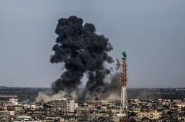 الطيران الحربي الاسرائيلي يقصف جنوب قطاع غزة مجددا
