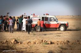 8 اصابات برصاص الاحتلال و30 اختناقا بالغاز في غزة