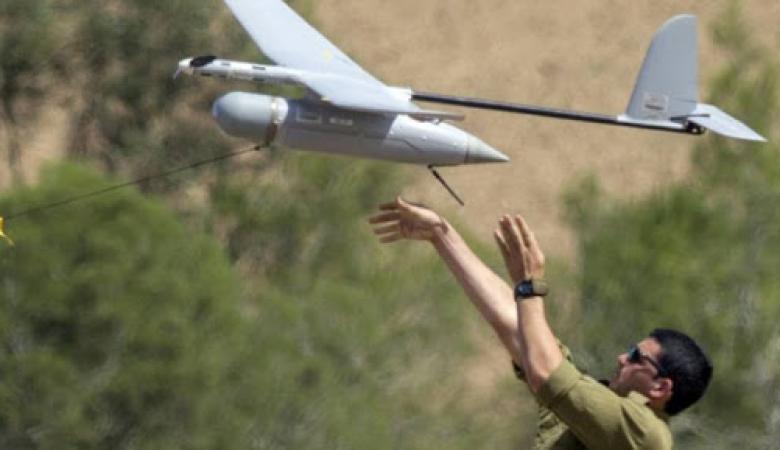 سقوط طائرة تجسس إسرائيلية ضخمة جنوب فلسطين المحتلة