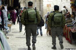 منظمة التحرير : لن نعترف بأي اجراء اسرائيلي في القدس