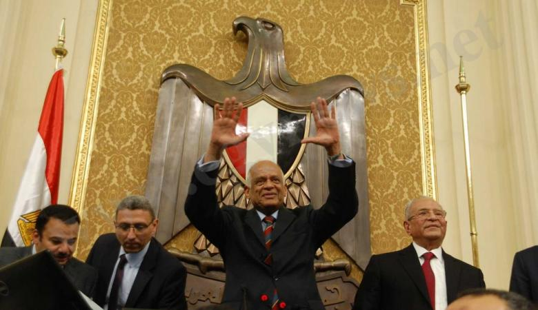 رئيس البرلمان المصري: ولائي بعد الله للسيسي