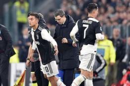 مدير يوفنتوس الإيطالي يعلق على غضب رونالدو