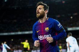 """في يوم سقوط مدريد  ..امضى """"ميسي """" 83% من عمر المباراة يتمشى في الملعب"""