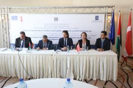 """اتفاقيات لتنفيذ مشاريع بنية تحتية في مناطق """"ج"""" بقيمة مليوني يورو"""