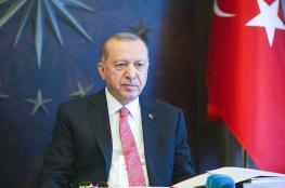 أردوغان يؤكد وقوفه إلى جانب لبنان بعد انفجار بيروت