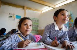 فلسطين تحقق رقما قياسيا : 125 مدرسة تفوز بجائزة المدرسة الدولية