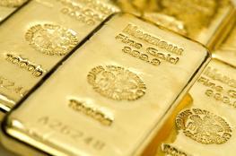الذهب يهبط الى ادنى سعر له منذ عام