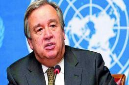الامين العام للامم المتحدة يدعو الى حماية المدنيين في العراق