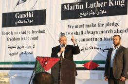 الحكومة : خطاب هنية يوم أمس تكريس للانقسام الاسود الظلامي