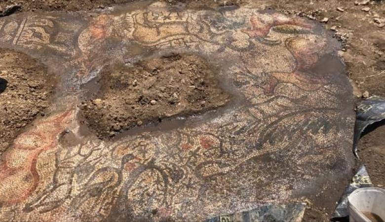 العثور على فسيفساء بتركيا عمرها 1600 عام