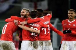 سويسرا تلحق بركب المتأهلين إلى مونديال روسيا 2018